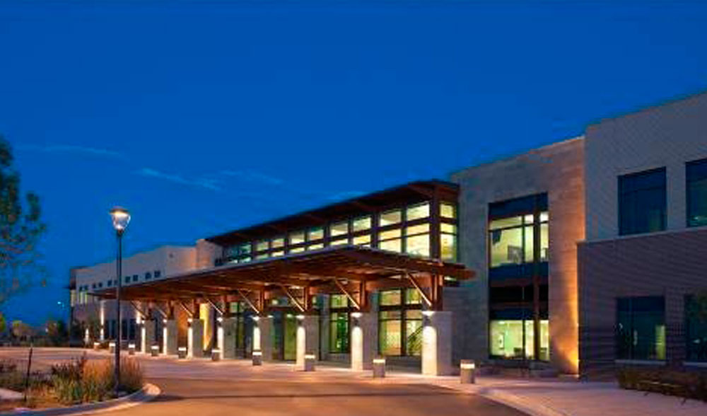 McCracken Eye and Face Institute office night time exterior view image