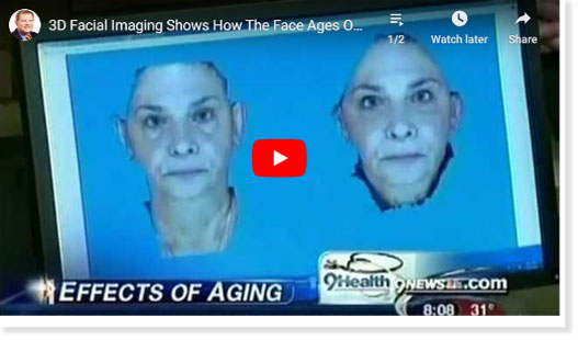 3D facial imaging video click to see